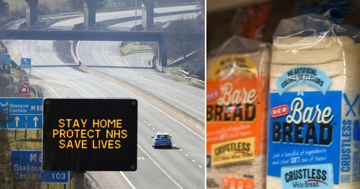 3 22.jpg?resize=1200,630 - Man Fined After He Drove At 110mph In Lockdown Just So He Could Buy Cheaper Bread