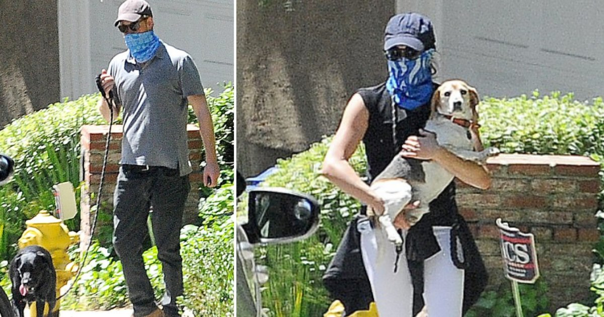 3 54.png?resize=412,275 - Prince Harry And Meghan Markle Wear Bandanas As Facemasks While Walking Their Dogs