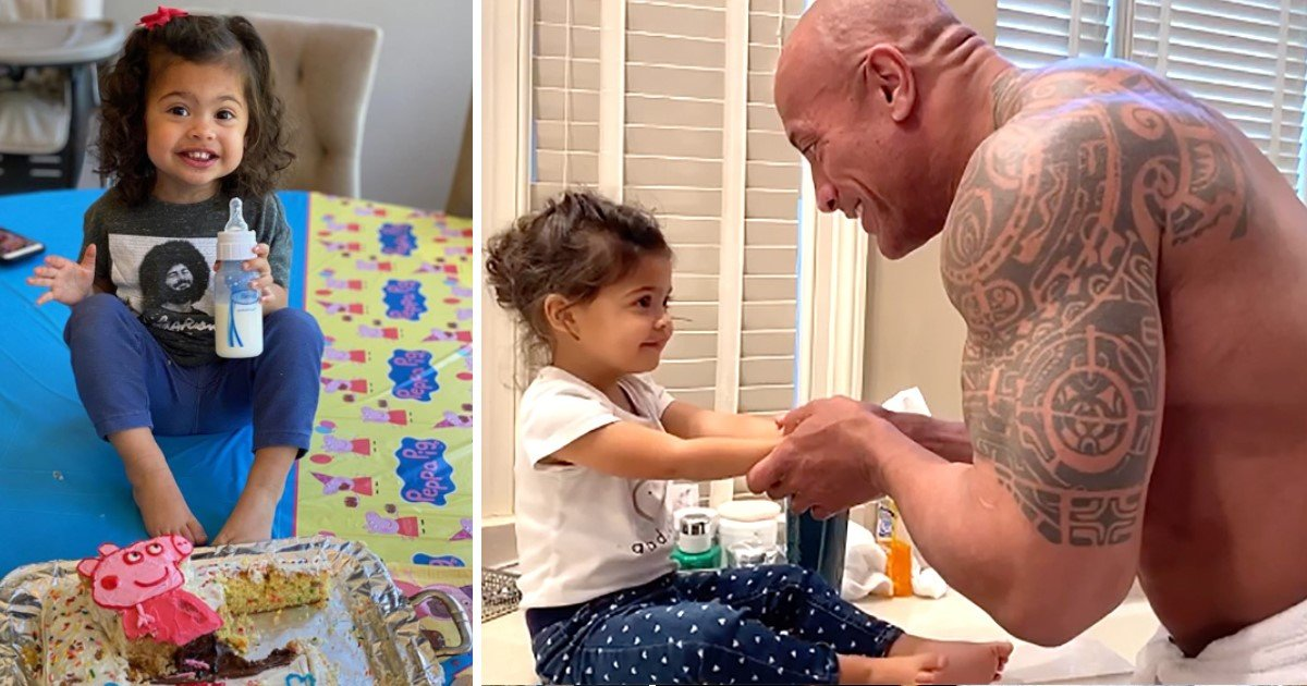 """3 62.jpg?resize=412,232 - Dwayne 'The Rock' Johnson Celebrated Daughter Tiana's Second Birthday As Lauren Declared Her """"Sweetest Baby Girl In The Whole World"""""""