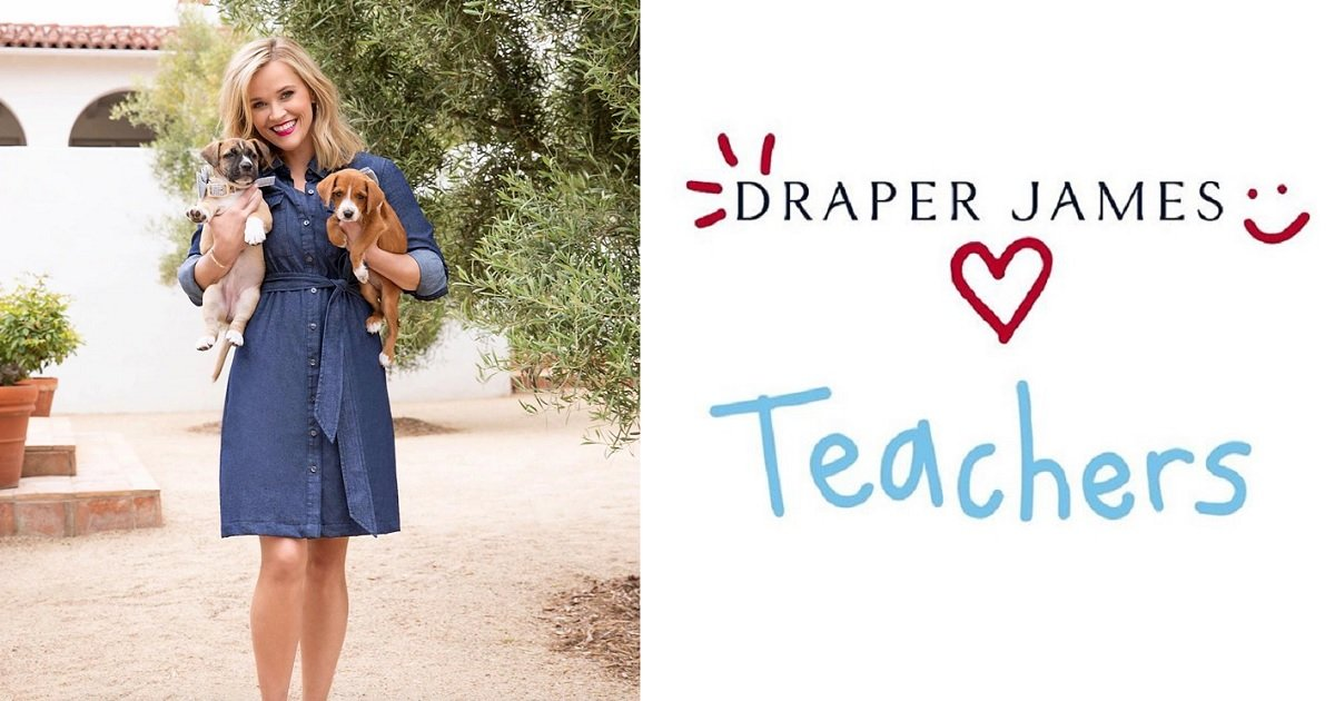 3 9.jpg?resize=1200,630 - Reese Witherspoon's Draper James Giving Out Free Dresses To Teachers