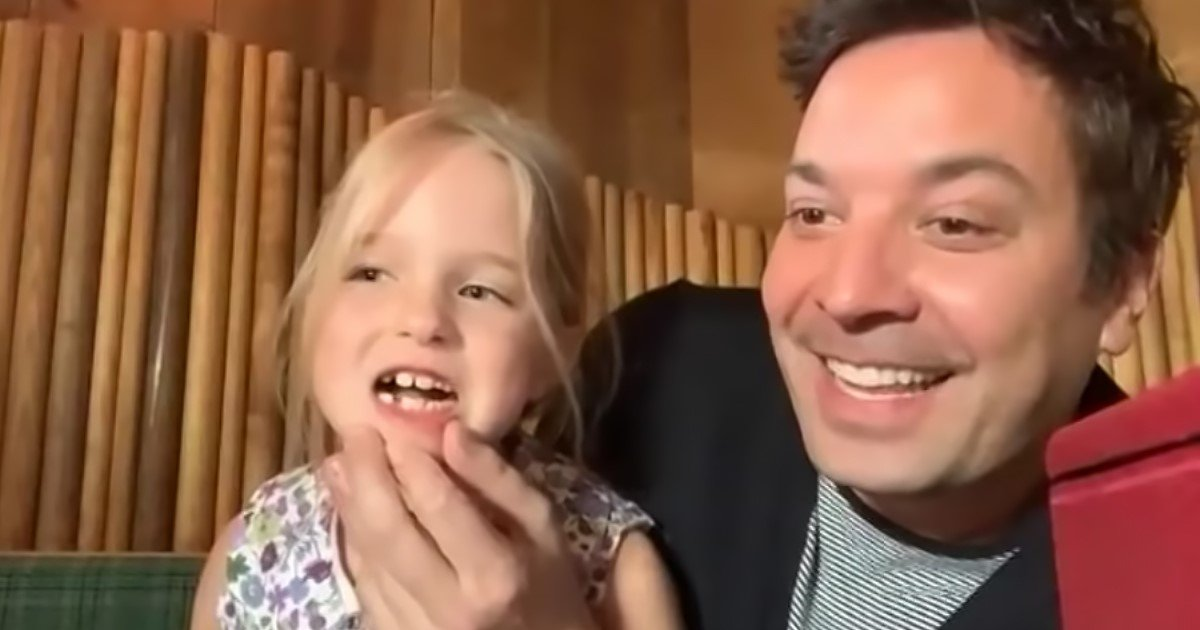 4 19.jpg?resize=1200,630 - Jimmy Fallon's Daughter Interrupted His Home-Edition Live Interview To Reveal That She Lost A Tooth
