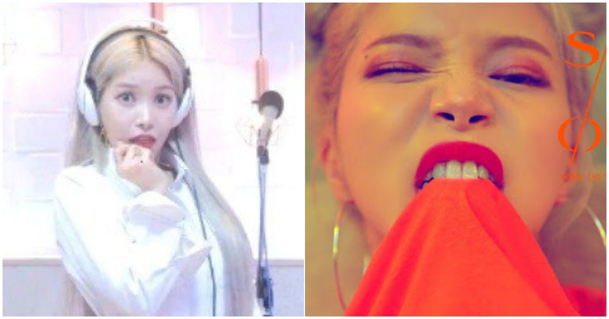 "8 18.png?resize=412,232 - 솔로 ""솔라""의 신곡에 '마마무 멤버들 반응'...문별 ""화장은 왜 하나"""