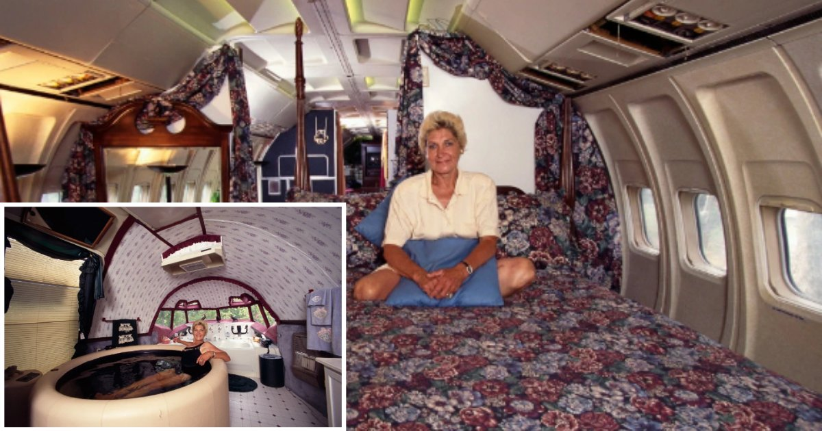 9 12.png?resize=1200,630 - A BOEING 727 Passenger Plane Was Turned Into An Incredible 3 Bedroom Home