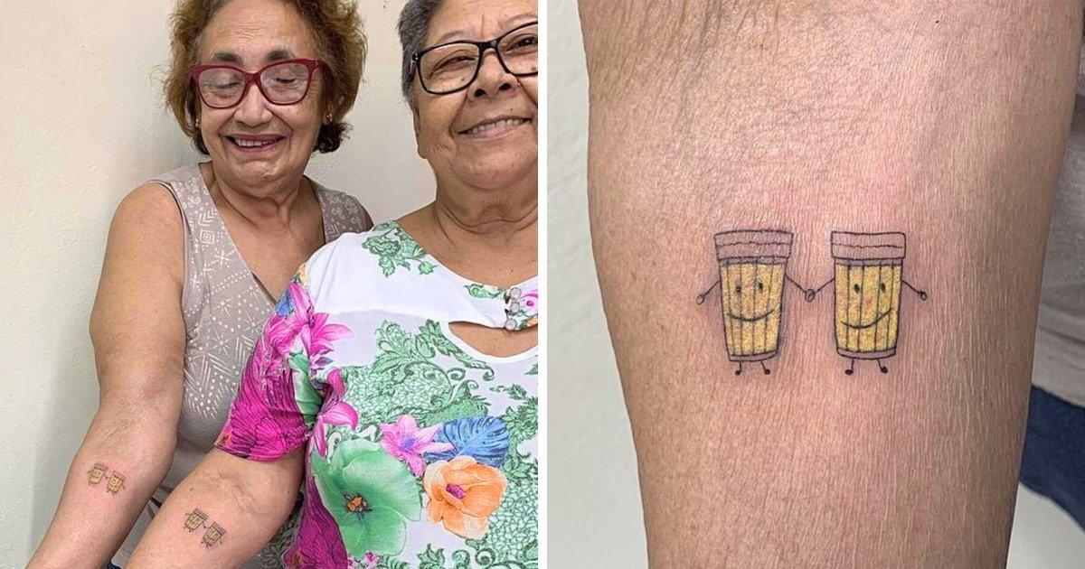 alltrends.jpg?resize=1200,630 - Histoire d'amitié : Pour célébrer leur 30 ans d'amitié, elles se font un tatouage en commun