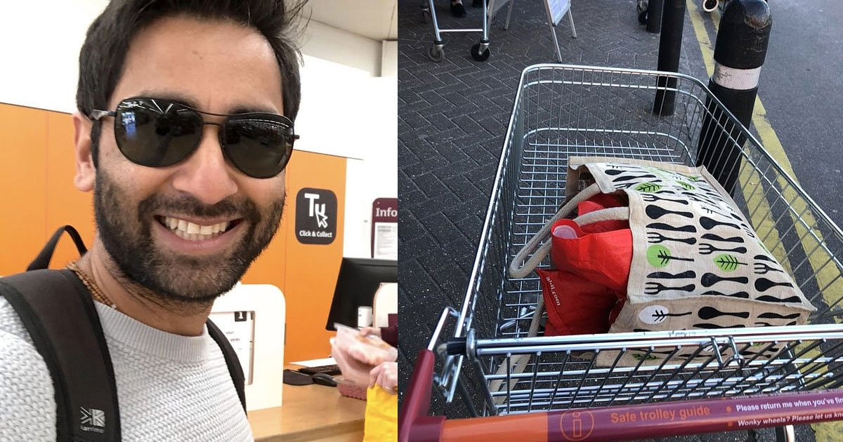blind former doctor facetimed his wife to direct him while food shopping in sainsburys.jpg?resize=1200,630 - Blind Man FaceTimed His Wife To Direct Him While Food Shopping At A Supermarket