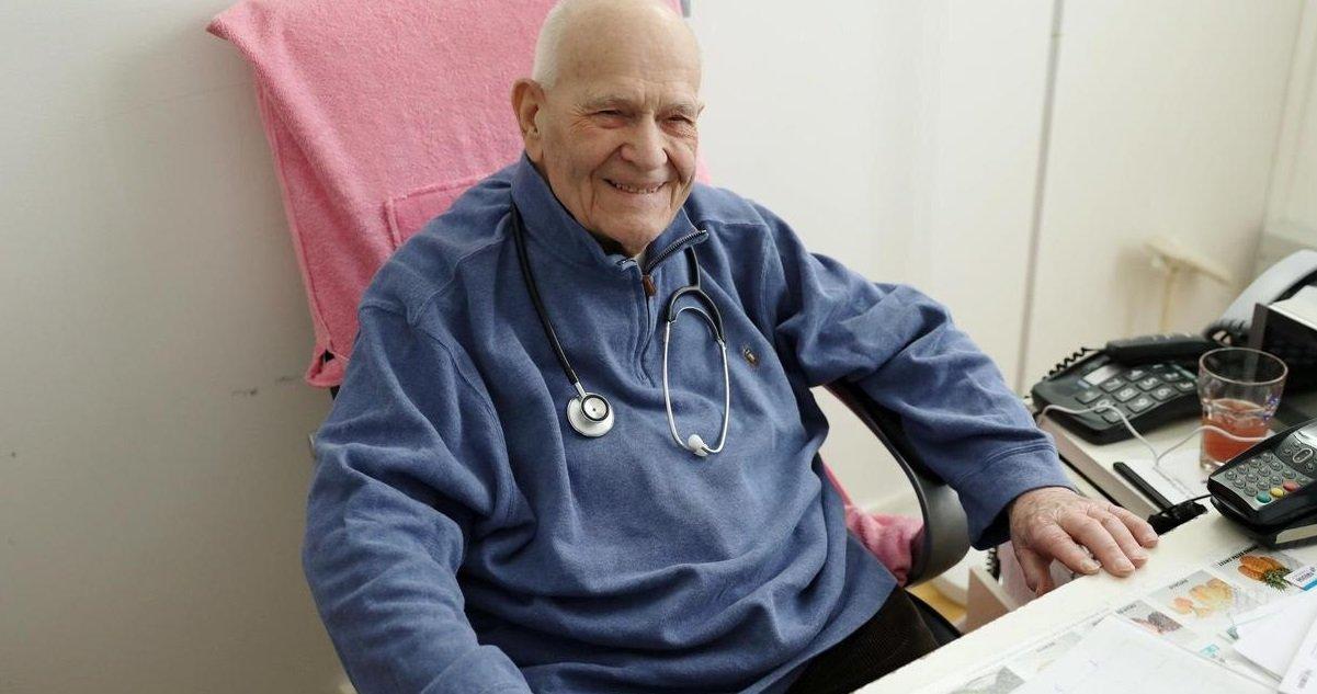 christian chenay.jpg?resize=412,232 - Belle histoire du jour: un médecin de 98 ans reprend ses fonctions et s'occupe des malades du coronavirus