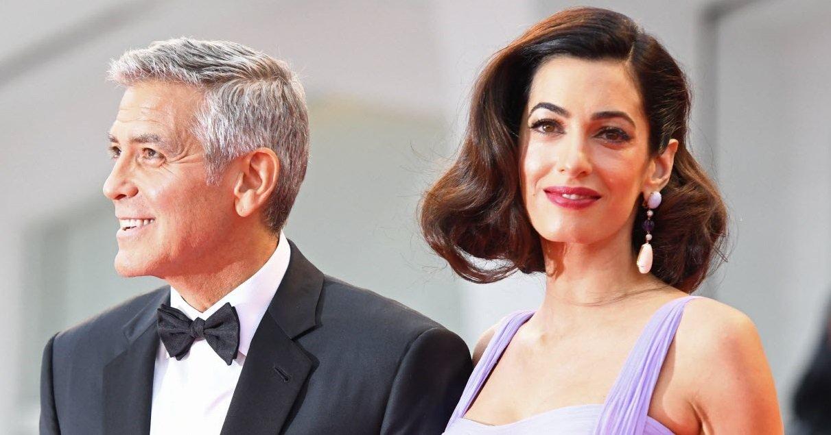 clooney.jpg?resize=412,232 - Générosité: le couple Clooney a fait un gros chèque pour soutenir la lutte contre le coronavirus