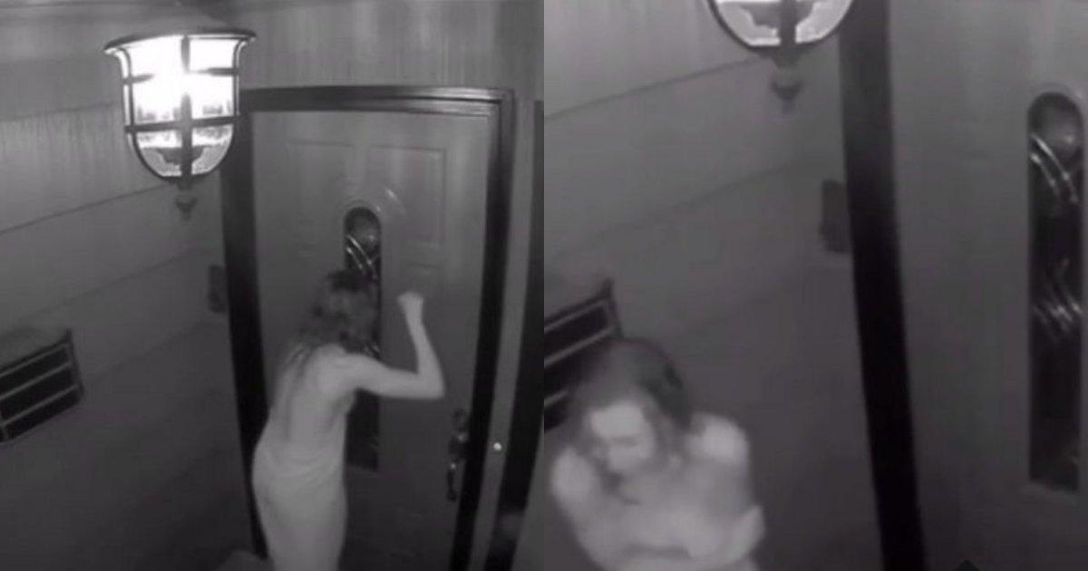 """collage 138.png?resize=1200,630 - タオル""""一枚""""のみで玄関のドアを何十回も叩いて姿を消した女性の最後の姿"""