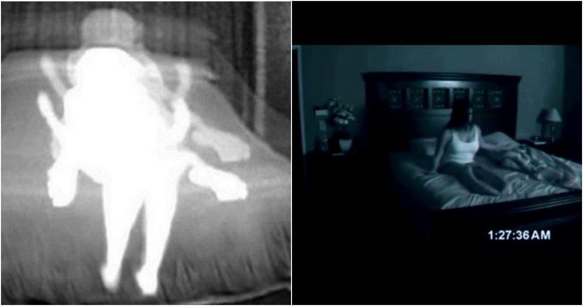 collage 219.png?resize=1200,630 - 자신의 집에 귀신이 있다고 믿은 남성이 설치한 '카메라'에 담긴 소름돋는 현장