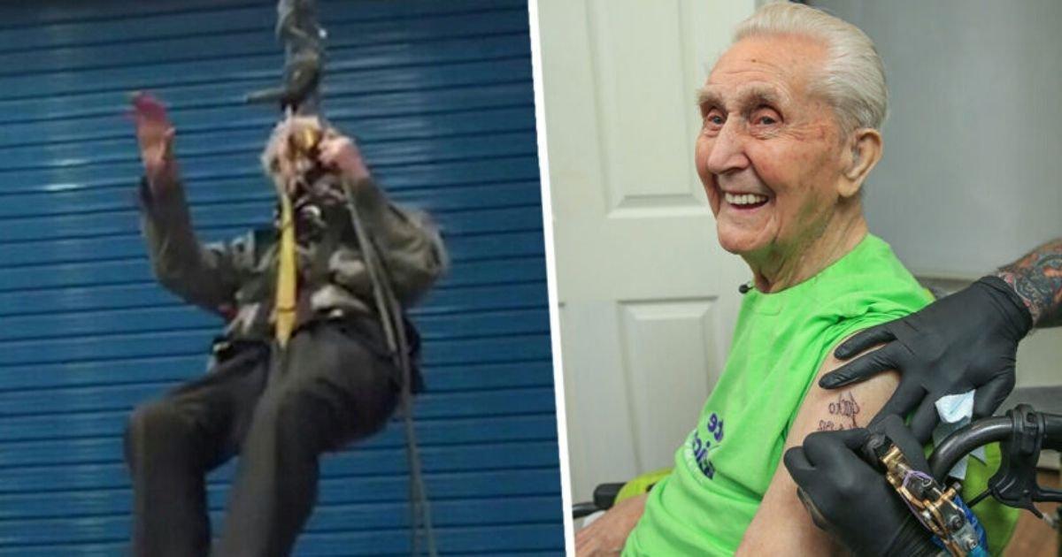 covertt.jpg?resize=1200,630 - Daredevil Pensioner Who Broke World Records Died at 108
