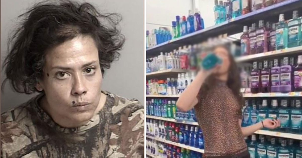 ddd.jpg?resize=1200,630 - Strange Woman Licks Grocery Worth $1,800 In An Attempt To Get It For Free