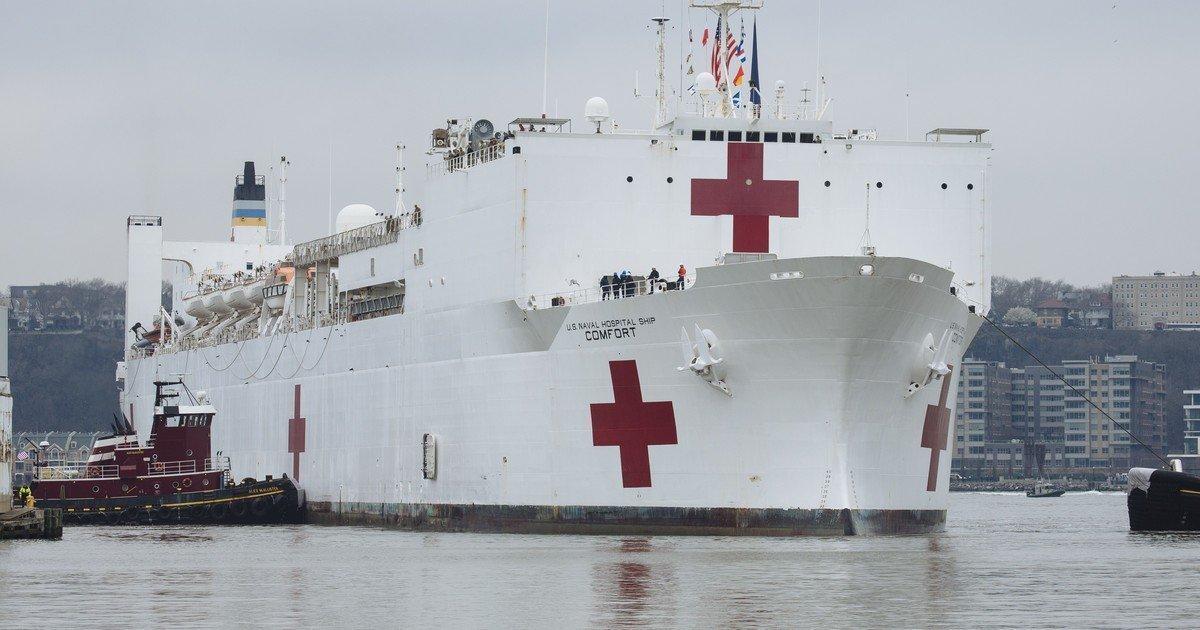 ec8db8eb84ac 2.jpg?resize=412,275 - Navy 'Ships' the No Corona Patients Policy as NYC Hospital Crisis Worsens