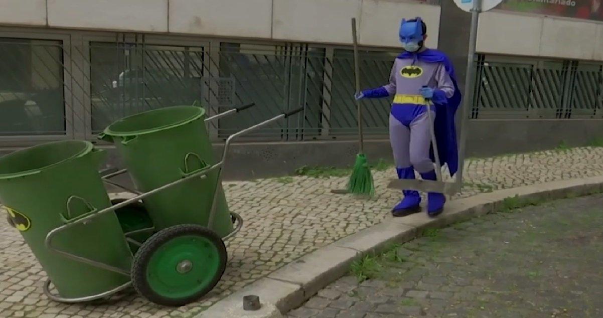 engie 1.jpg?resize=412,232 - Lisbonne: les éboueurs et les livreurs portent des costumes de super-héros
