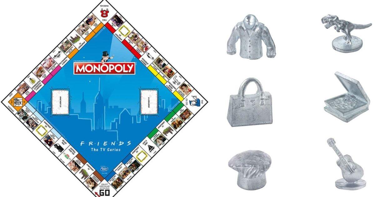 friends monopoly 2 e1585768577388.jpg?resize=412,232 - Insolite : Le jeu de société culte Monopoly sort une édition spéciale pour les fans de la série Friends