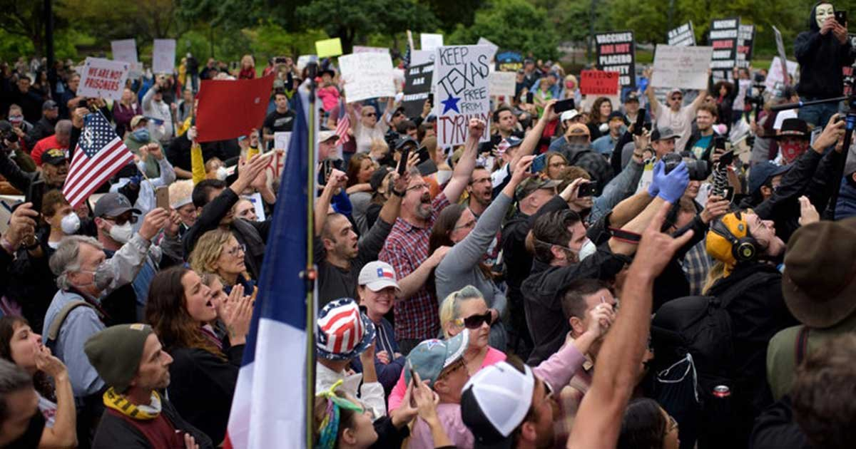 getty.jpeg?resize=1200,630 - Protesters Across U.S. Demand To End Lockdown