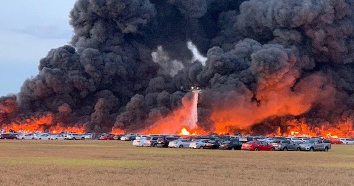 gssd.jpg?resize=412,232 - Southwest Florida Airport Caught A Massive Fire That Damaged 3,500 Rental Vehicles