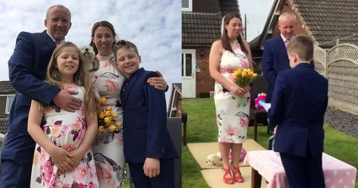 kids arranged a surprise garden wedding for their parents after their dream nuptials cancelled due to the pandemic.jpg?resize=412,232 - Kids Arranged A Surprise Garden Wedding For Their Parents After Their Dream Nuptial Was Cancelled Due To The Pandemic