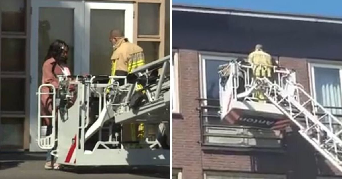 nh nieuws5.jpg?resize=1200,630 - Firefighters Lift Family To Fourth Floor Window So Dying Grandpa Can Say Farewell