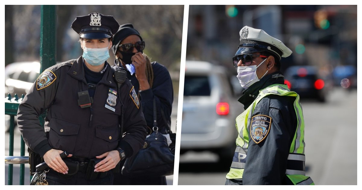 nypd cover.jpg?resize=1200,630 - 20% of NYPD Officers Stayed Home Due To Illness