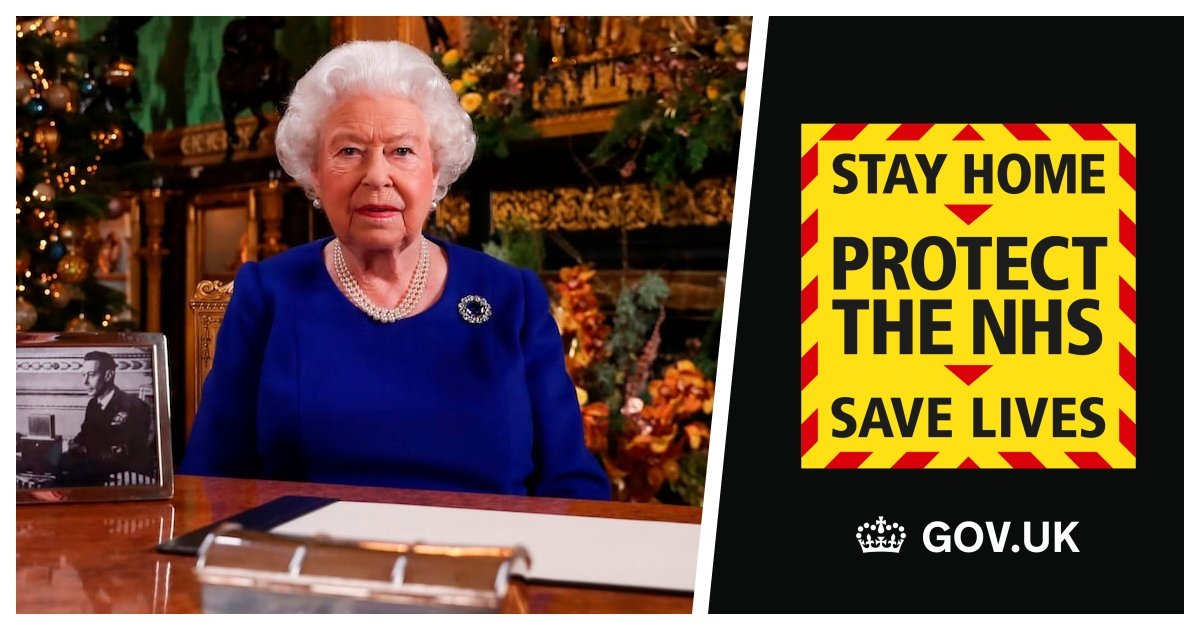 queen cover.jpg?resize=1200,630 - Queen Elizabeth To Make A Rare Address Amidst Global Pandemic