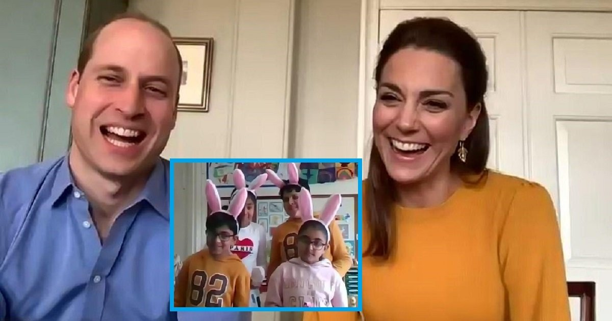 """r3 1.jpg?resize=1200,630 - Prince William And Kate Middleton Got An Adorable """"Virtual Bouquet"""" From The Children Of Frontliners"""