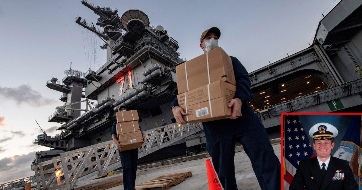 sdfsdfss.jpg?resize=1200,630 - Coronavirus: Almost 840 USS Roosevelt Sailors Tested Positive For COVID-19