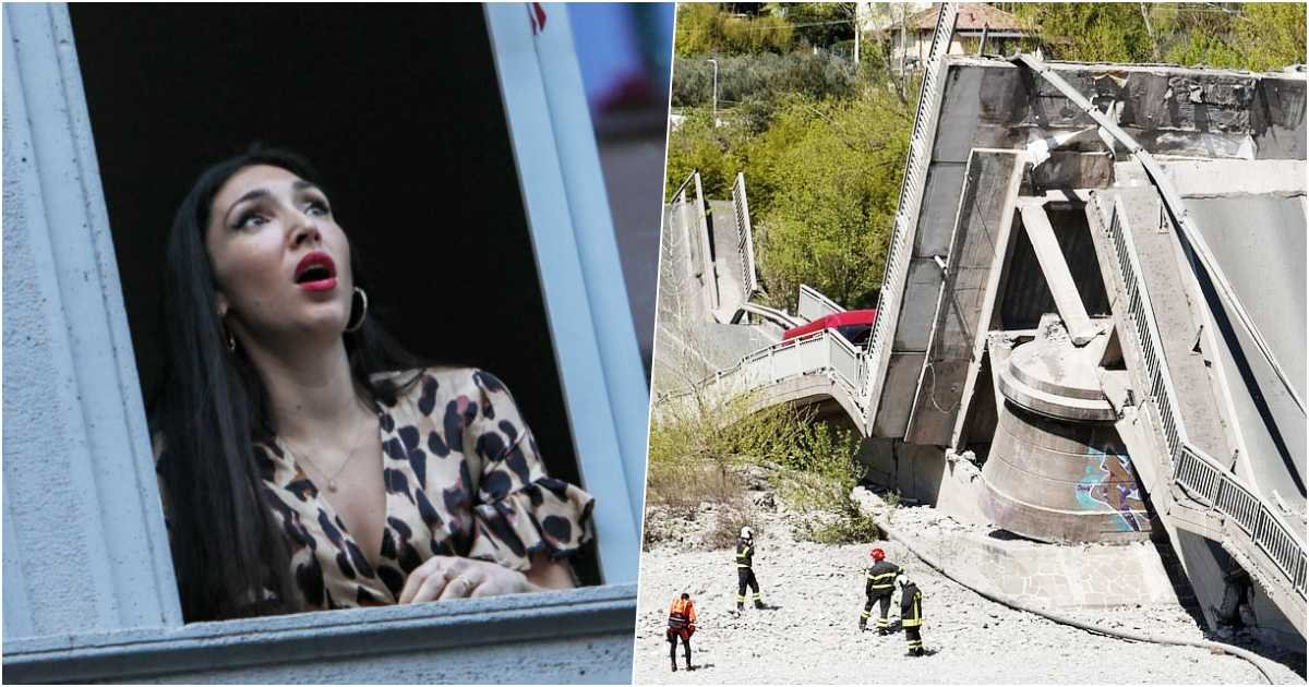 thumbnail 2.jpg?resize=1200,630 - Massive 850ft Bridge Collapses In Italy, Injures Only Two People Because It's Empty Amid Coronavirus Lockdown