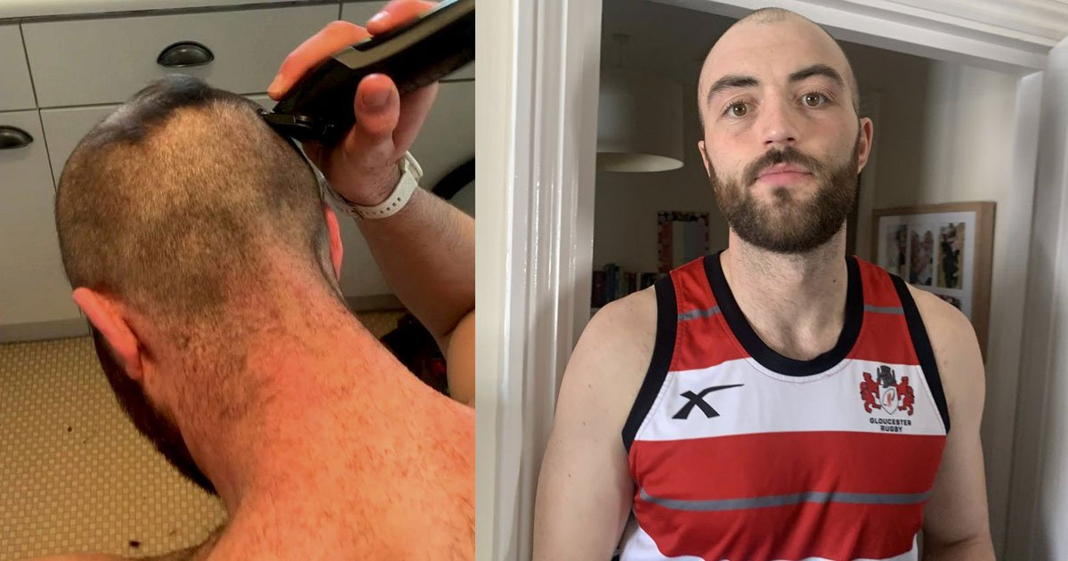 untitled 1 2.jpg?resize=412,275 - A Man Ended Up Shaving Off His Head After His Girlfriend Tricked Him That She Could Give Him A Haircut