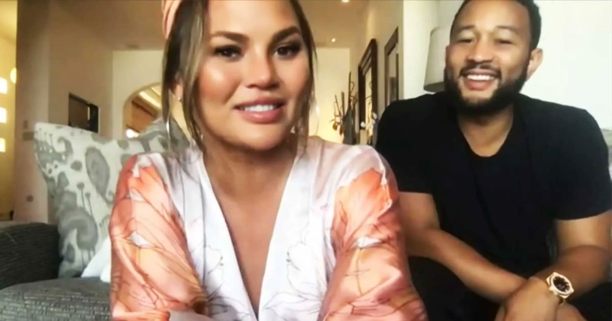untitled 1 3.jpg?resize=1200,630 - Chrissy Teigen And John Legend Admitted They Have Become More Emotional While Staying At Home