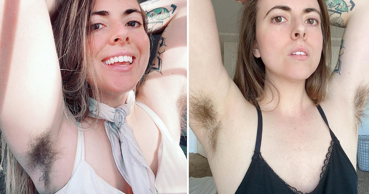 untitled 53.jpg?resize=1200,630 - Woman - Who Was Mocked For Her Mustache By Her Ex-boyfriend - Now Encourages Women To Embrace Their Bodies By Flaunting Her 6cm Long Armpit Hair