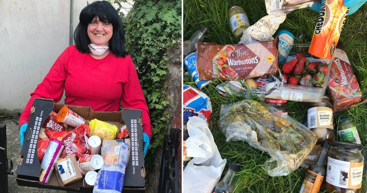 untitled 97.jpg?resize=412,232 - Woman Threw £60-worth Of Unwanted And Out-of-date Food But She Doesn't Feel Bad About It And Is Still Stockpiling