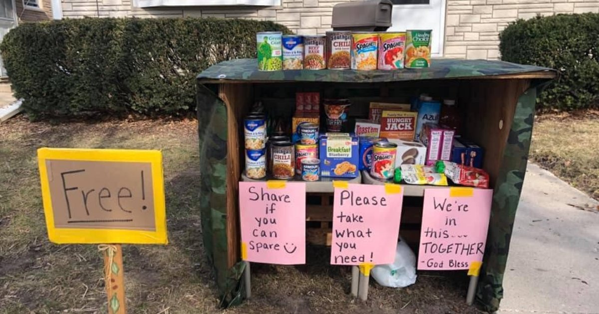 untitled design 18 1.png?resize=1200,630 - Family Built An Outdoor Pantry For Locals To Share Goods And Take What They Need During Lockdown
