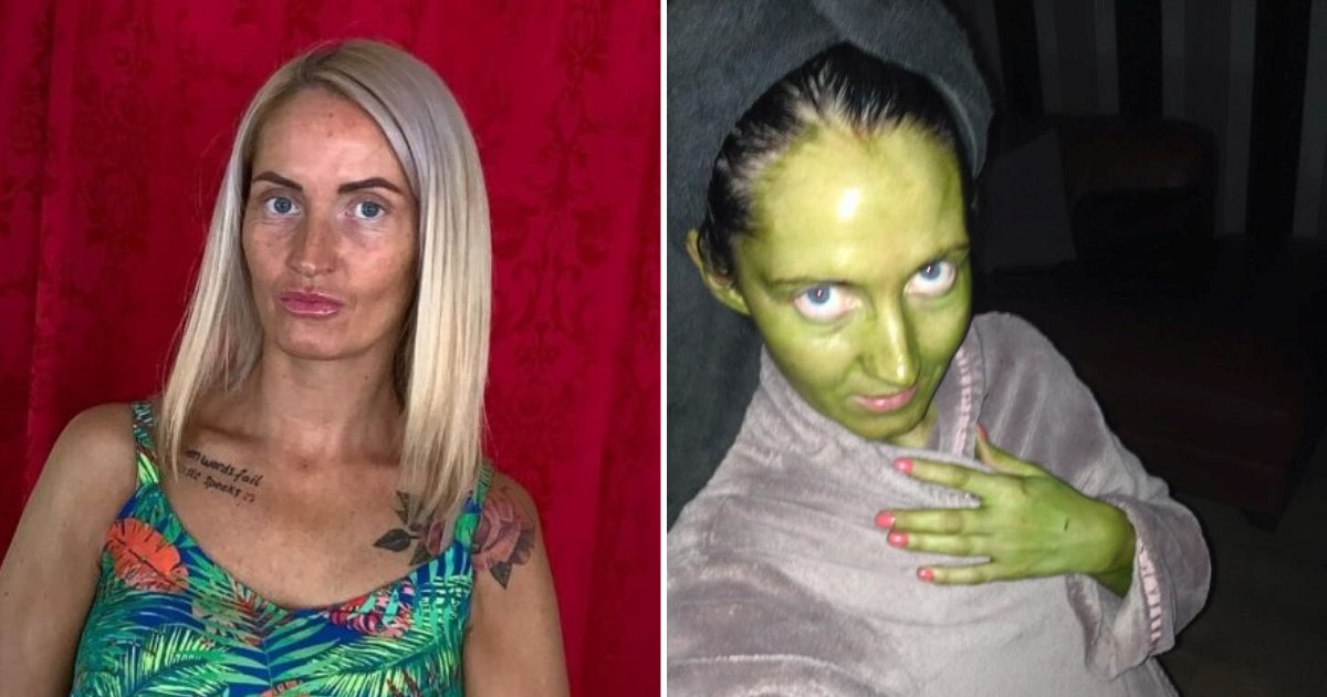 untitled design.png?resize=412,232 - Mother Turned Completely Green After Applying Fake Tan