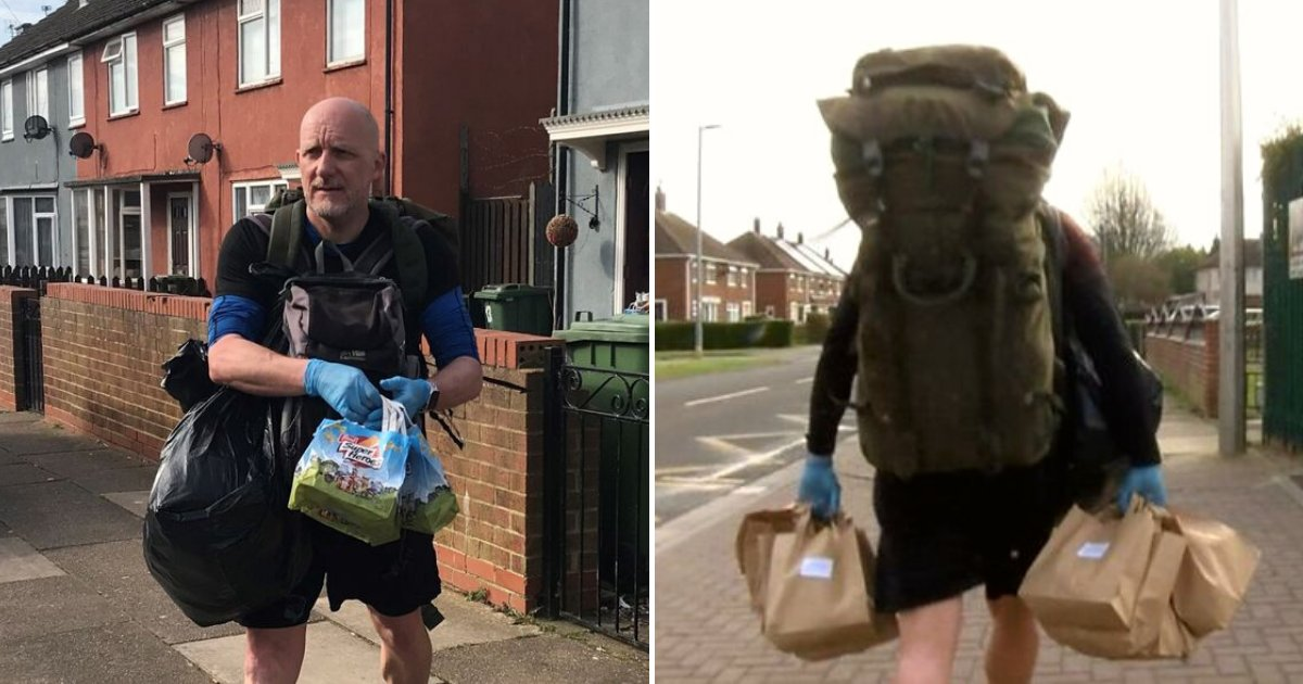 zane6.png?resize=1200,630 - Teacher Walks Five Miles A Day To Deliver Lunches To Vulnerable Pupils Amid Coronavirus Lockdown