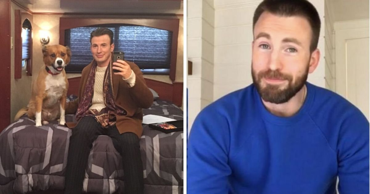 1 115.jpg?resize=1200,630 - Chris Evans Finally Joined Instagram So He Can Share Snaps of His Dog