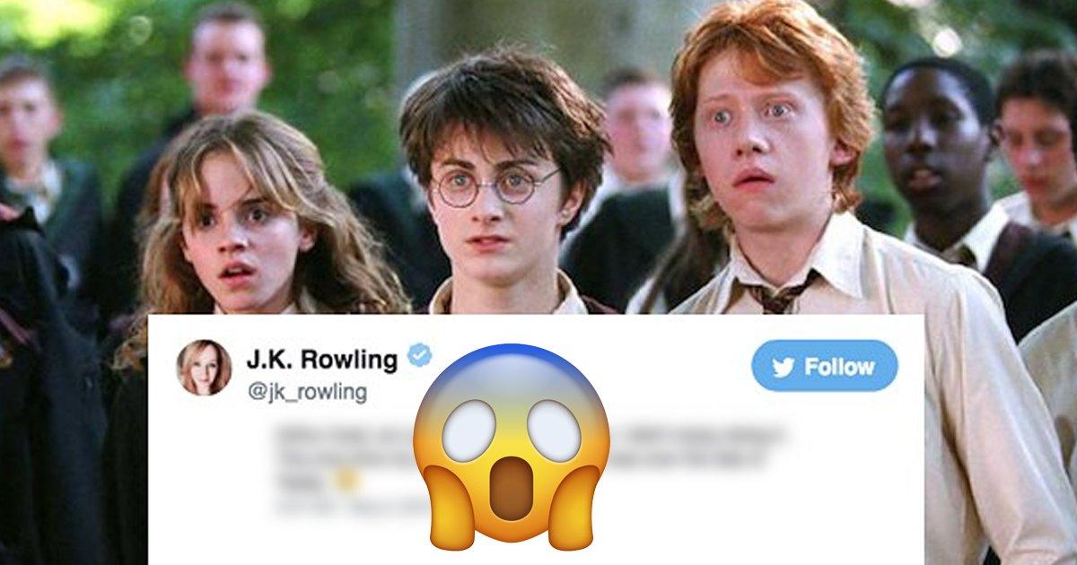 1 149.jpg?resize=1200,630 - JK Rowling Reveló El Verdadero Origen De La Historia De Harry Potter Y No Es El Que Creías