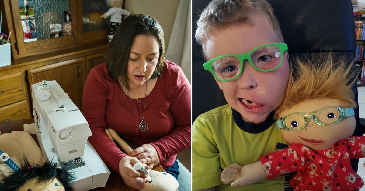 1 31.png?resize=1200,630 - This Woman Creates Adorable Replica Dolls For Disabled Kids