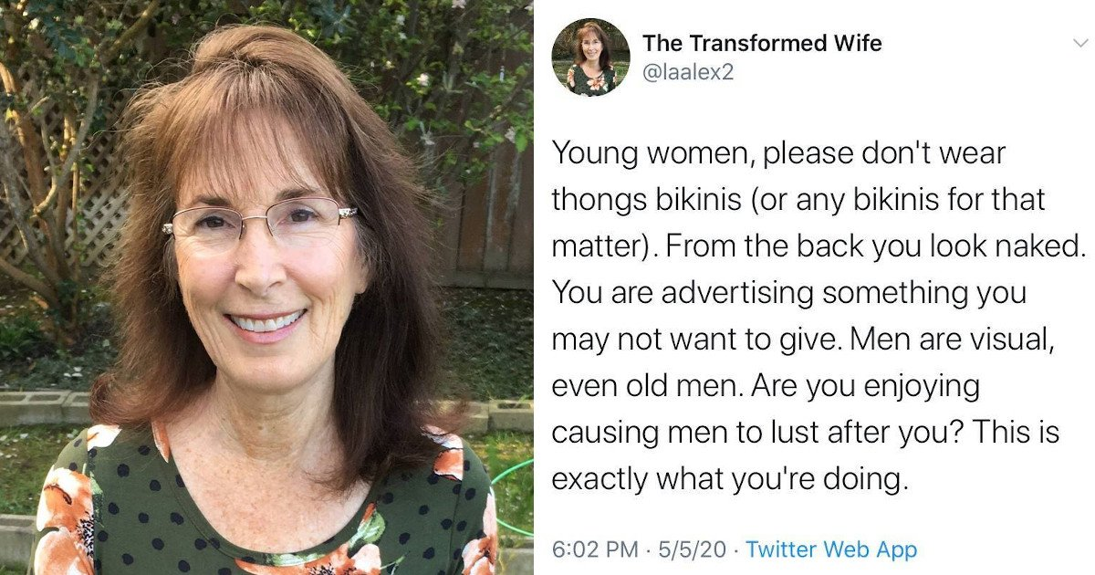 11 14.jpg?resize=412,232 - Controversial Blogger Slammed For Saying Women Who Wear Thong Bikinis Cause Men To Lust After Them
