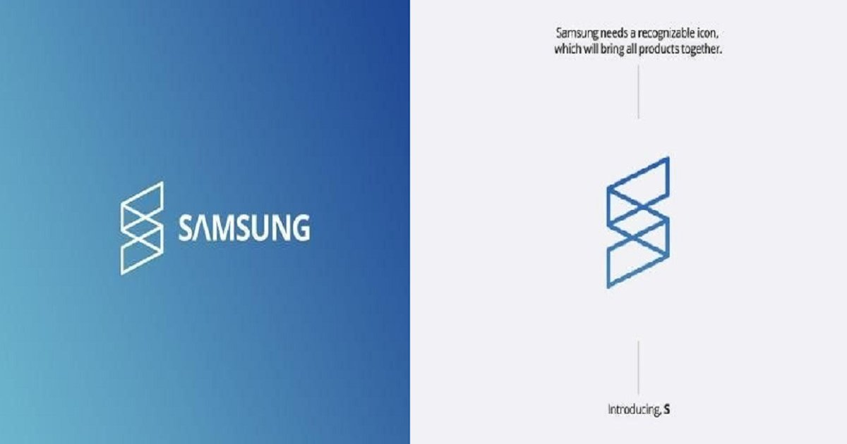"1111 1.png?resize=1200,630 - ""삼성 로고 이거 어때요?"" 인터넷에 올라온 해외에서 제작한 '삼성'의 새로운 로고"