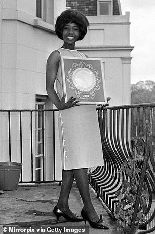 Millie Small pictured at a reception at Fontana Records in May 1964