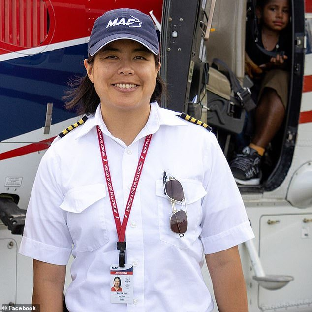 Joyce Lin, 40, died in a light plane crash Tuesday while on her way to deliver COVID-19 tests to a remote village in Indonesia
