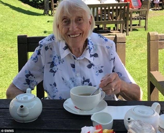 Kitt, who is originally from Essex, was made a widow in the 1950s when her WWII RAF veteran husband Alec died from cancer. She never remarried or had children