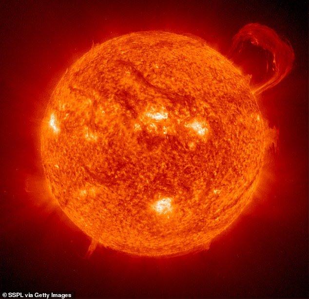 The activity on the Sun