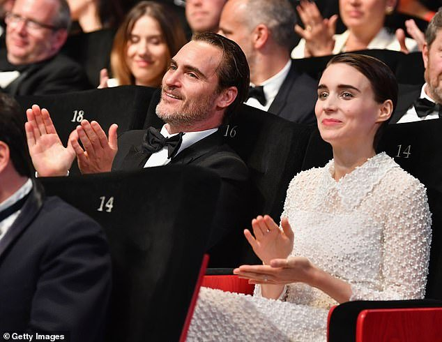Love: They made their red carpet debut in 2017 at the Cannes Film Festival