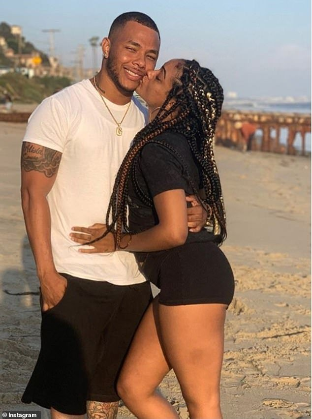 Boyce and Adepoju (left to right) were reportedly dating for a little over one year before they were found dead