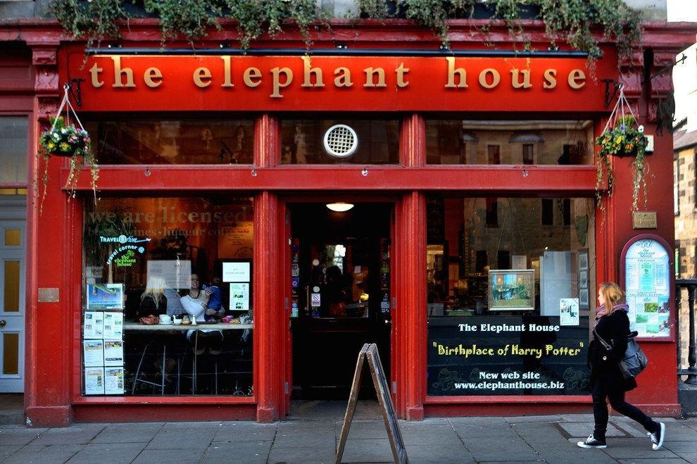 The Elephant House Café, Edinburgh (con imágenes) | Escocia ...