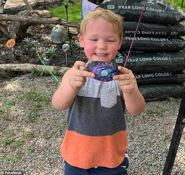 Where is Cameron? First responders in Ohio are looking for Cameron Walters, 5, who was last seen at the Mineral Springs Lake Resort on Monday evening