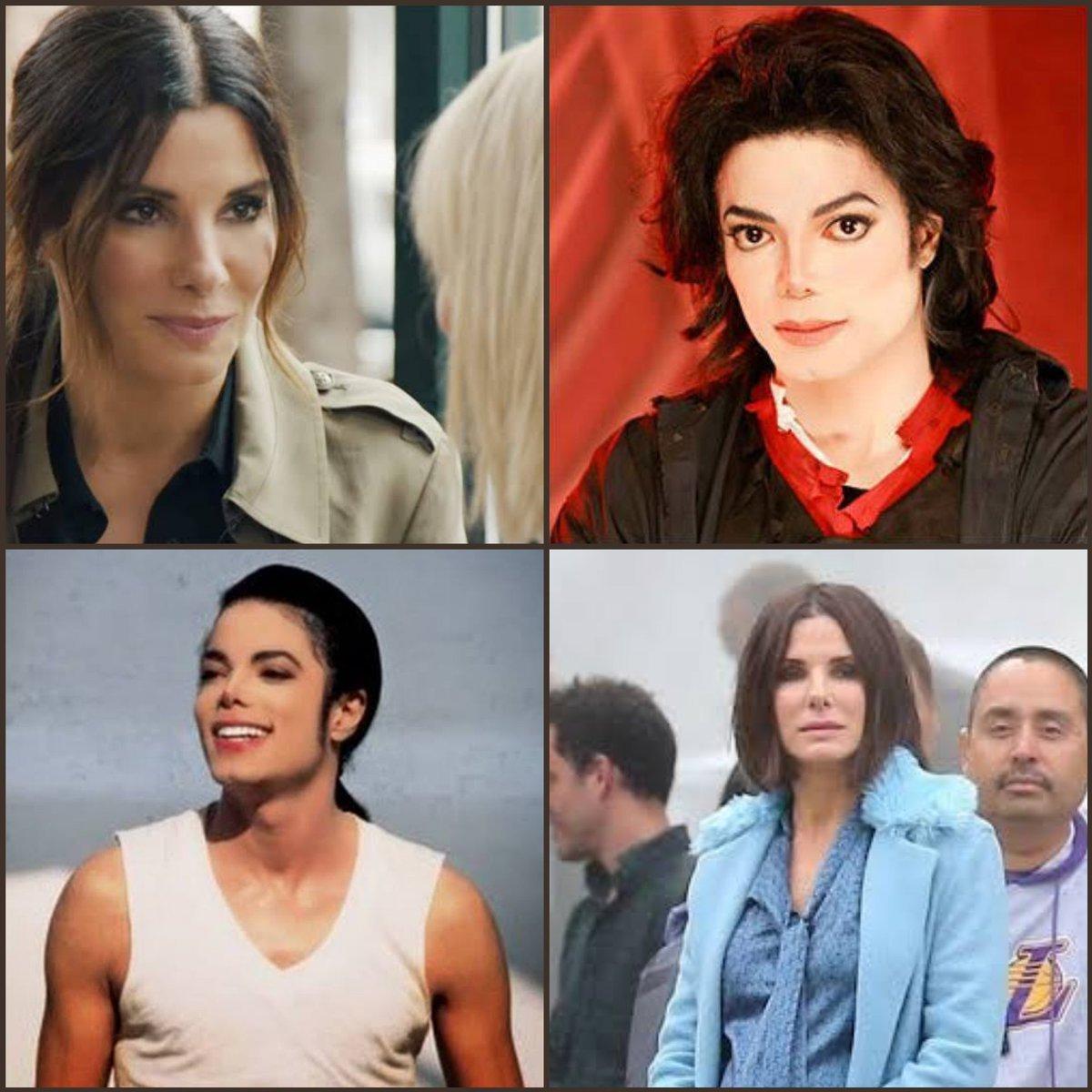 Sandra Bullock Michael Jackson