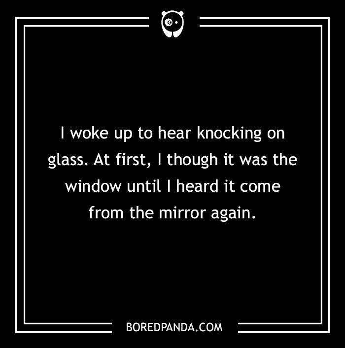 2 Sentence Horror Stories