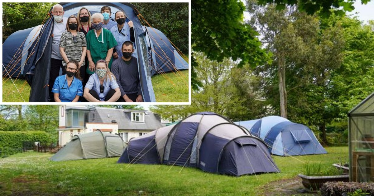 5 30.png?resize=412,275 - Care Home Staff is Sleeping Outside in Tents to Protect The Residents From The Virus Risk